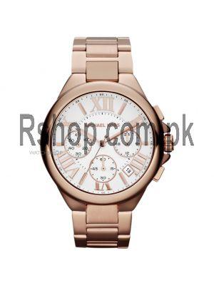 MICHAEL KORS  Oversized Bradshaw Rose Gold-Tone Watch Price in Pakistan