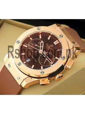 Hublot Big Bang Chronograph Brown Dial Watch Price in Pakistan