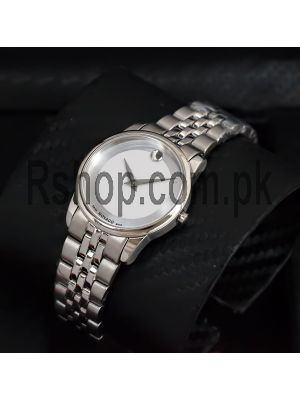 Movado Ladies Museum Classic Silver Dial Watch Price in Pakistan