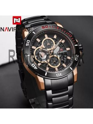 NAVIFORCE NF9174 Stainless Steel Chronograph Watch Price in Pakistan