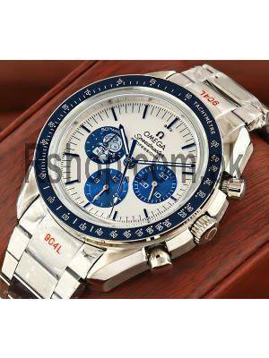 Omega Speedmaster Professional Apollo 13 50th Anniversary Silver Snoopy Award Watch Price in Pakistan