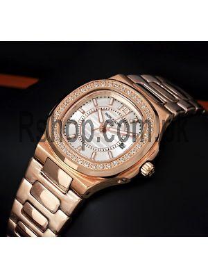 Patek Philippe Nautilus Rose Gold Ladies Watch Price in Pakistan