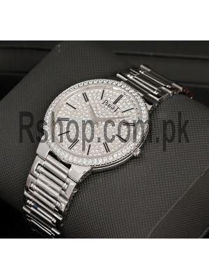 Piaget Traditional Diamond Bezel Diamond Dial Watch Price in Pakistan