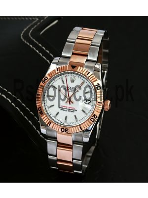 Rolex Steel & Gold Turn-O-Graph Datejust Watch Price in Pakistan