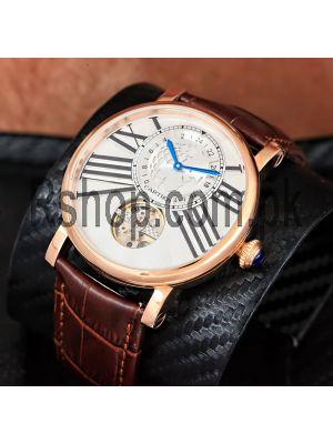 Rotonde De Cartier Earth Moon Tourbillon Watch  Price in Pakistan
