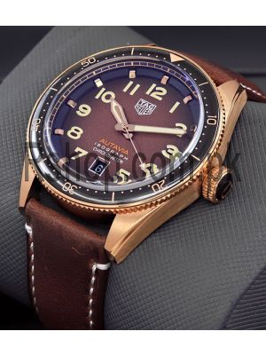 TAG Heuer Autavia Isograph Brown Dial Swiss Watch Price in Pakistan