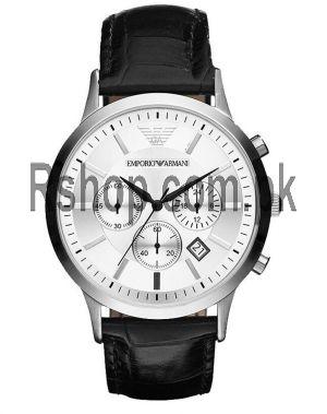 Emporio Armani Men's AR2432 Black Leather Watch AR2432  (Same as Original) Price in Pakistan
