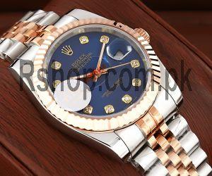 Rolex Datejust Blue Dial Swiss Watch Price in Pakistan