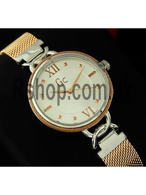 Gc Cable Chic Mesh Band Watch Price in Pakistan