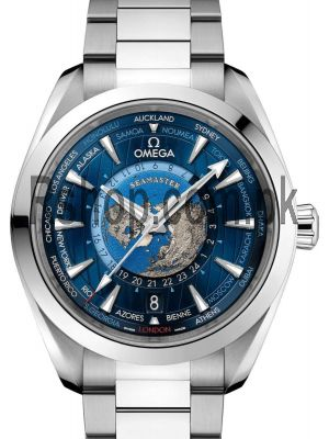 Omega Aqua Terra GMT Worldtimer Chronometer Watch Price in Pakistan