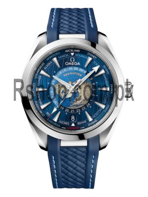 Omega Seamaster Aqua Terra Worldtimer Blue Watch Price in Pakistan