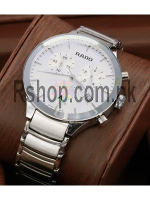 Rado Centrix Men Silver Watch Price in Pakistan
