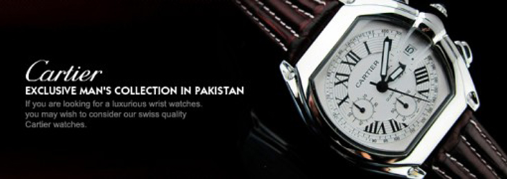 Cartier Watches Price in Pakistan by Replicawatchespakistan.pk