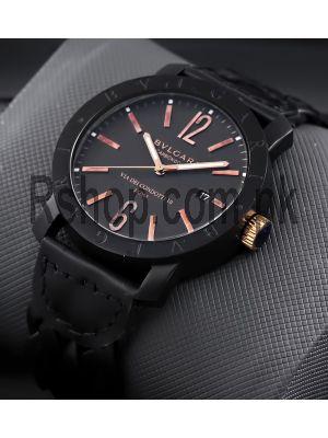 Bvlgari Carbon Gold Black Watch Price in Pakistan