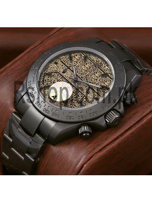 Rolex Black Pvd Watch